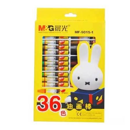 [浙江百货] 晨光36色米菲3D六角油画棒