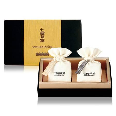 七碗茶堂 手馥红乌龙茶+黄金乌龙茶礼盒组75g*2