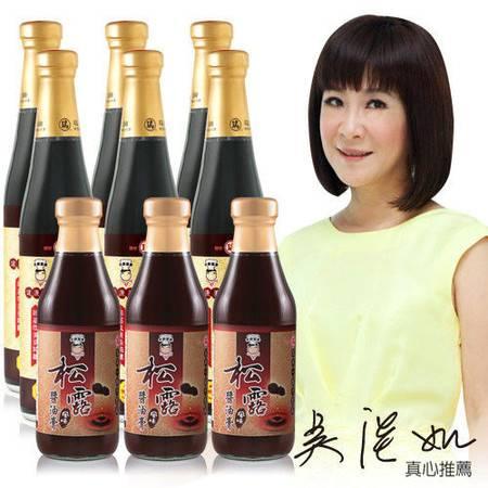 吳淡如代言 百年瑞春手工釀造非基改松露風味醬油6+3雙料組