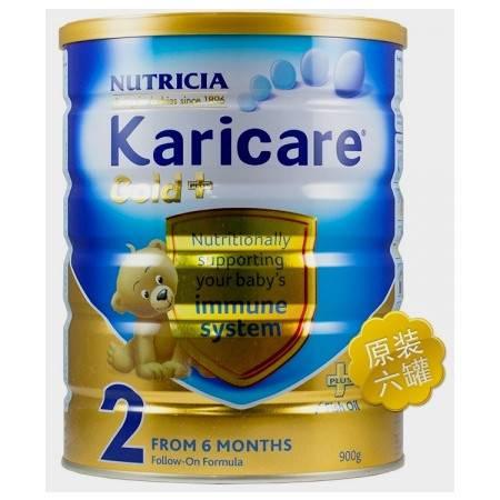 Karicare Gold+2 可瑞康金装 婴儿奶粉 2 段(6-12个月) 整箱六罐