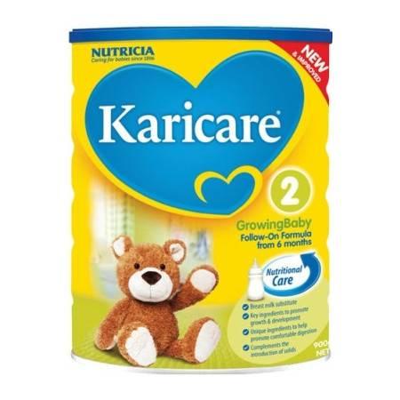 普通装 Karicare Original 可瑞康 婴儿奶粉 2 段(6-12个月) 整箱六罐