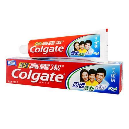 高露洁 超强牙膏140g