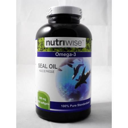 Nutriwise 北极海豹油 120粒裝 (2瓶裝)