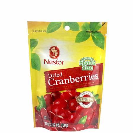 【洋货促销】乐事多蔓越莓干100g*3袋