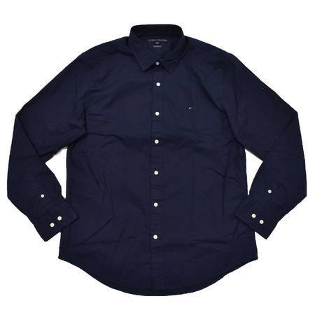 Tommy Hilfiger弹力长袖休闲衬衫