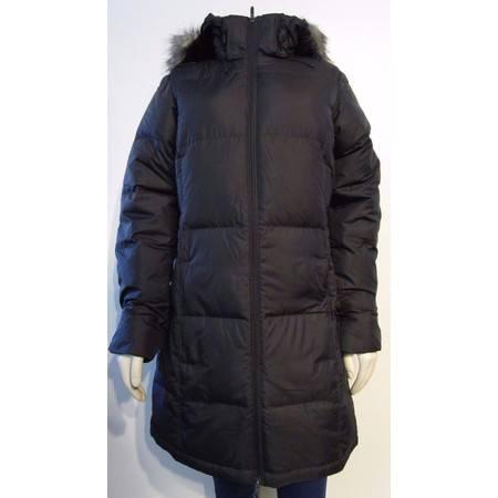 Mountain Hardwear 女子连帽黑色夹克外套