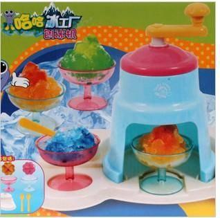 贝乐高 Play go 夏日冰系列手工DIY 哈哈冰工厂之刨冰机 6320