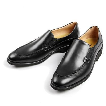 凯普狄诺captaino 男式头层牛皮黑色休闲皮鞋px11127
