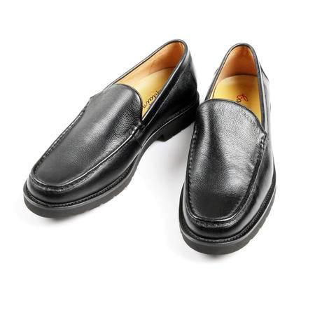 凯普狄诺captaino 男式头层牛皮黑色休闲皮鞋px11124