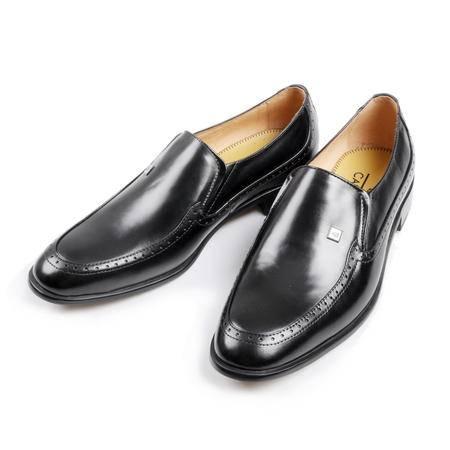 凯普狄诺captaino 男式头层牛皮黑色休闲皮鞋px11126