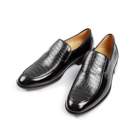 凯普狄诺captaino 男式头层牛皮黑色休闲皮鞋px10157