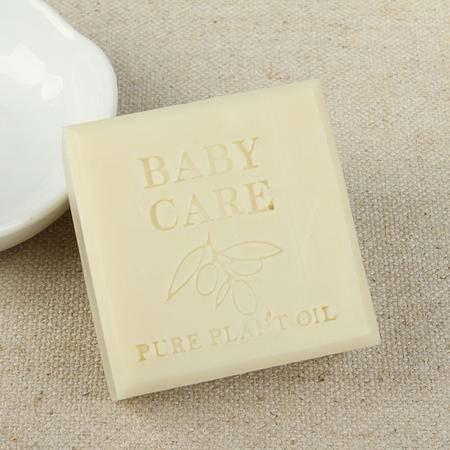 优芙妮 原味橄榄婴儿护理凝脂皂100g