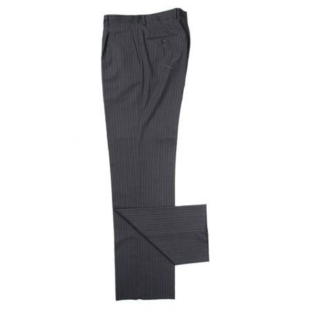 萨托尼 sartore 男士 商务 特价 正装 西裤 灰条子 05303008130