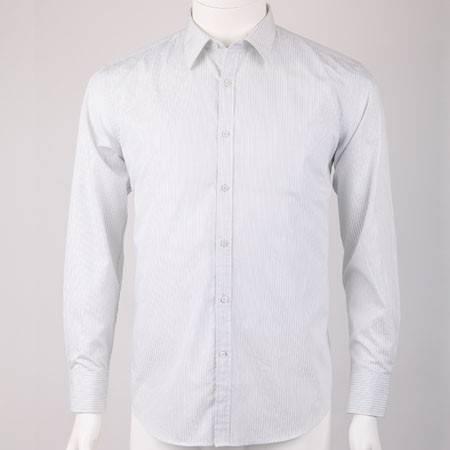 2014新款男士全棉长袖商务休闲衬衫  10172020