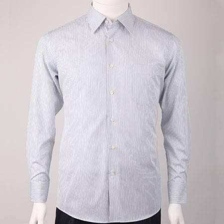 男士男装全棉免烫休闲商务长袖衬衫萨托尼10174053