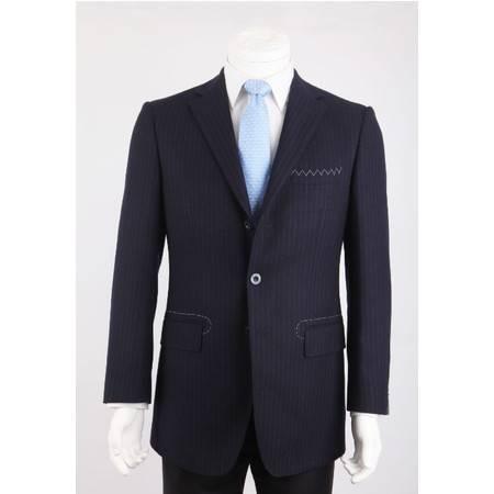 SARTORE(萨托尼) 专柜正品男装 西服 商务正装 藏青 03055045