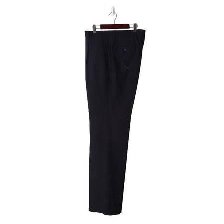 萨托尼专柜正品 特价男装  商务正装 藏青 羊毛西裤 03055145