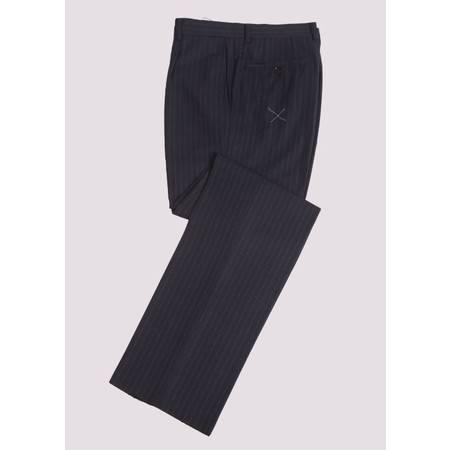 SARTORE(萨托尼) 专柜正品男装 西裤 商务正装 藏青 03039145
