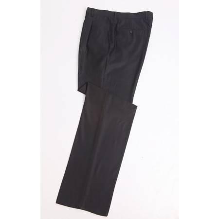 萨托尼专柜正品 特价男装 商务正装 藏青 羊毛蚕丝西裤03087111