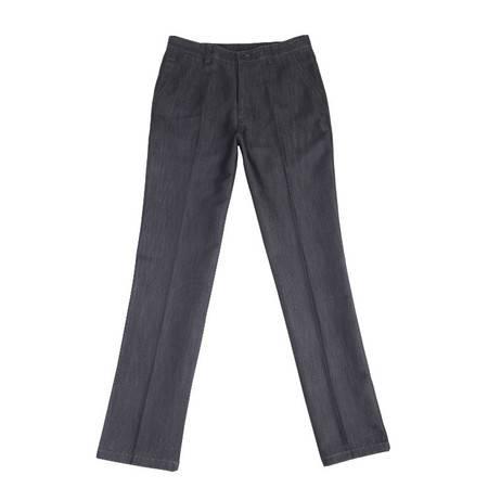 萨托尼 专柜正品 男装 商务休闲 牛仔裤新款上架 黑灰 09253114