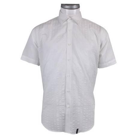 萨托尼正品时尚商务短袖衬衫11080120