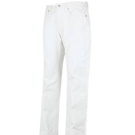 萨托尼 sartore 男士 商务 特价 休闲 牛仔裤 白色 09102120