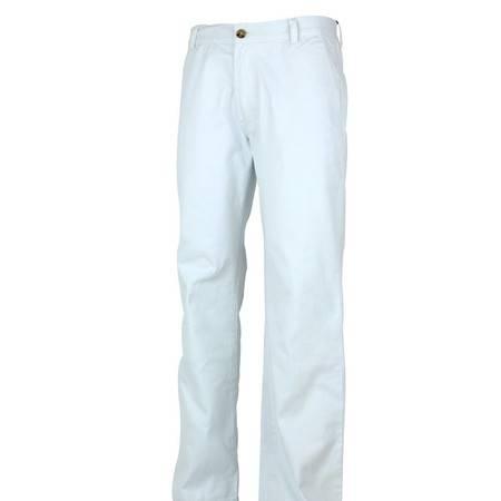 萨托尼 sartore 男士 商务 特价 休闲裤 白色 09103120