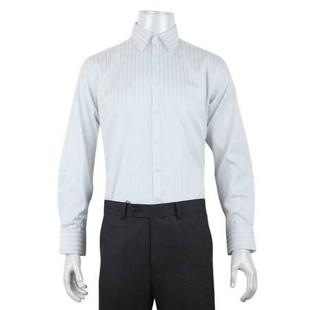 男士男装全棉免烫休闲商务长袖衬衫 萨托尼 10136053