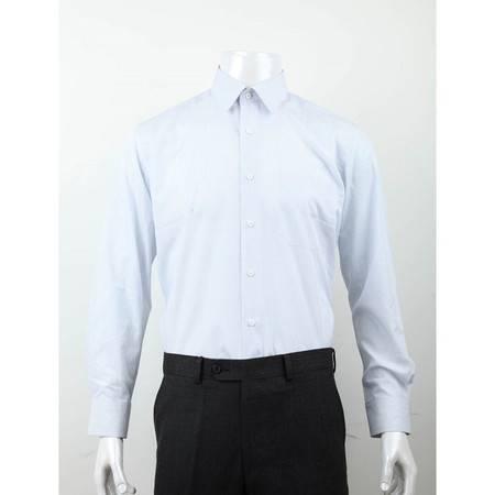 萨托尼 sartore 男士 商务 特价 休闲 长袖衬衫 浅蓝 10191053