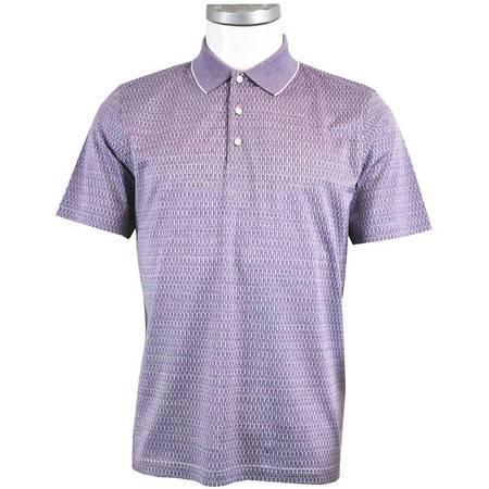 萨托尼 sartore 男士 商务 特价 休闲 短袖T恤 紫色 12219179