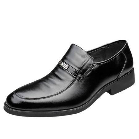 索里奥男式头层牛皮正装鞋3692