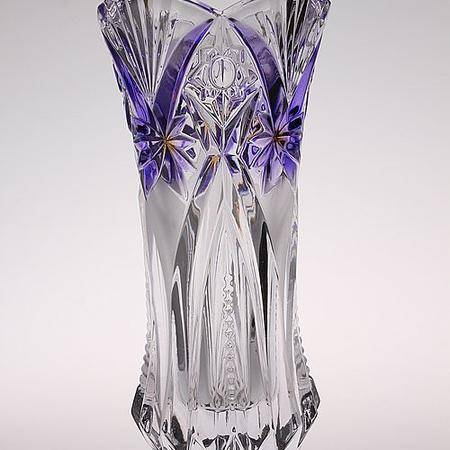 君子高级玻璃花瓶 JZ-214-1紫色