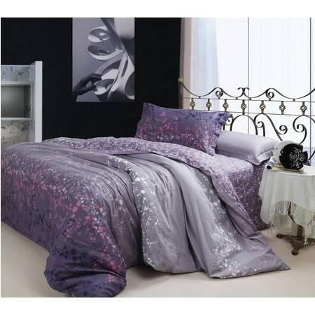优然之家家纺URAN 全棉斜纹环保四件套床上用品-星空物语1.5米床