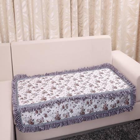 URAN 优然之家 小灰花 全棉沙发垫 90*150cm