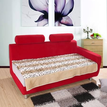 优然之家 URAN 豹纹 PV绒 沙发垫 70*88cm