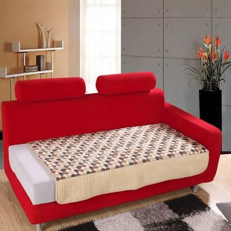 优然之家 URAN 圆点 PV绒 沙发垫 90*170cm