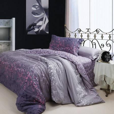 优然之家家纺 URAN 200*230cm全棉斜纹被套单件-星空物语