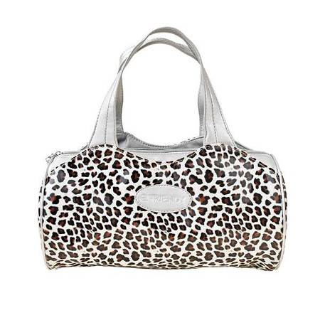 伊法兰妮银色豹纹炫彩节日时尚女用拎包 B004212