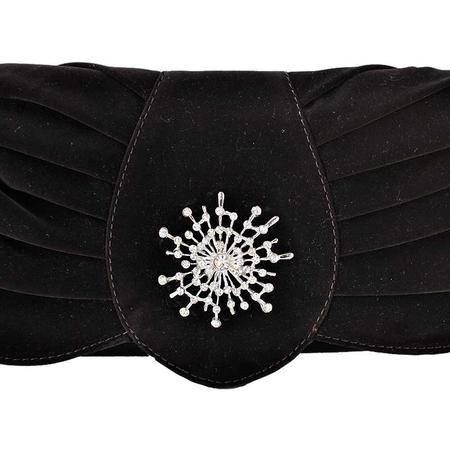伊法兰妮麂皮绒星光灿烂气质女性手抓包B004144