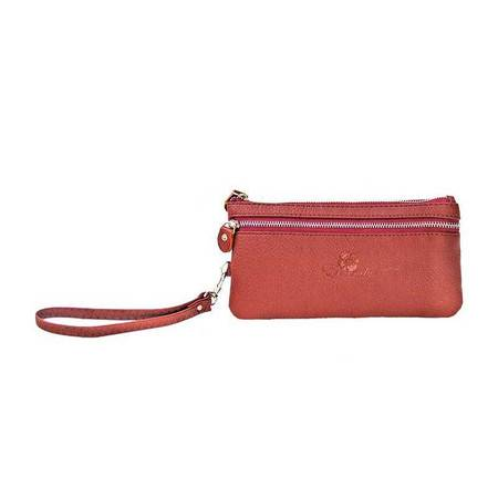 伊法兰妮多功能女式长款钱包(深棕)B004337