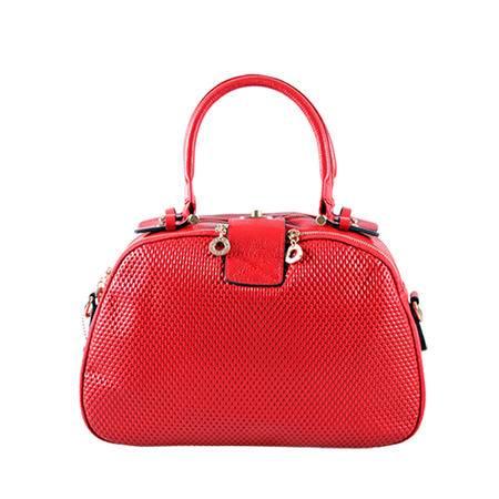伊.法兰妮OL时尚女式手拎包(红)B004574