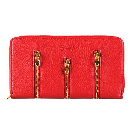 伊法兰妮风尚丽人长款女式钱包(红)B004421