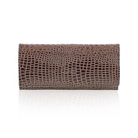 伊法兰妮 时尚鳄鱼纹长款女式钱包 B004741