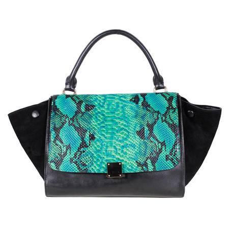 伊法兰妮2014年新品时尚蟒蛇纹蝙蝠包B005066