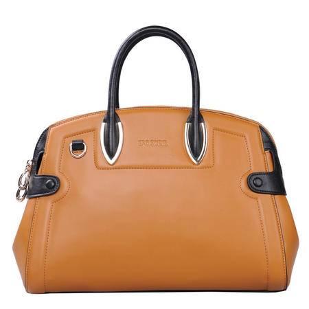 金狐狸  新款潮女潮流女包欧美大牌牛皮女士包包手提包包女