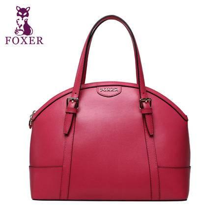 金狐狸2015新款欧美女包时尚潮流牛皮手提包单肩包女士休闲大包包