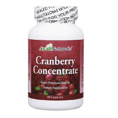 Avail Naturals蔓越莓胶囊90粒 女性妇科炎症泌尿系统保健营养品