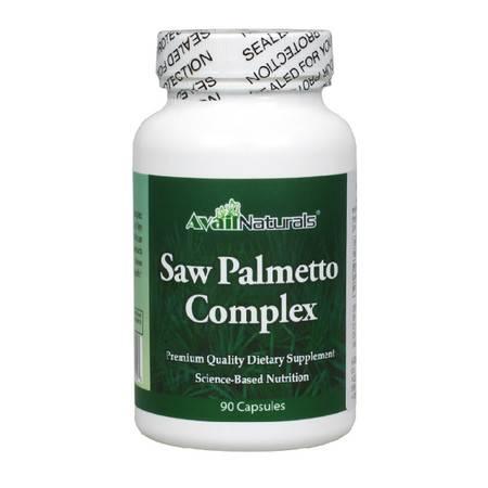 Avail Naturals锯棕榈前列腺胶囊 复合提取物90粒 美国男士保健品