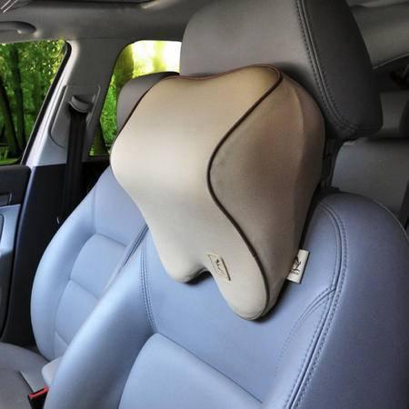 自由人 汽车头枕 记忆棉车用护劲枕 汽车靠枕车枕 汽车用品