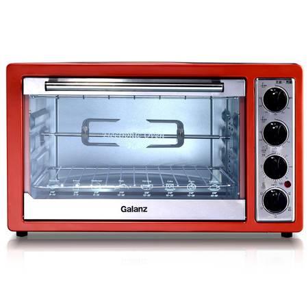 Galanz/格兰仕 电烤箱 K3 家用多功能烘焙烤箱 上下独立控温 发酵解冻 旋转烤叉 30L